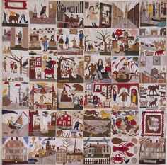 shelburne museum antique quilts | ... Made by Minnie Burdick. North Adams…