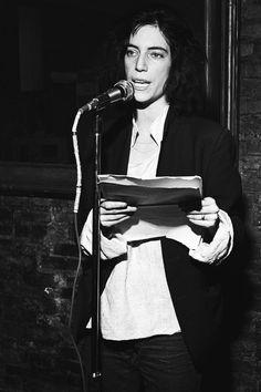 « Spoken words » :Le talent oratoire de Patti Smith