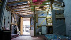 Inside the Project Refuge/e shelter © Sara Samain