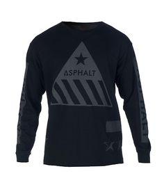 ASPHALT YACHT CLUB HAZARDOUS REFLECTIVE TEE-sOWc11mp