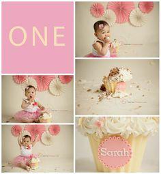 © Natty Cakes Custom Cakery | Smash Cake Photography Session