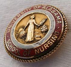 University of Alabama School of Nursing Graduation Pin
