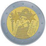2 euro 600th Anniversary of the Coronation of Barbara of Cilli - 2014 - Series: Commemorative 2 euro coins - Slovenia