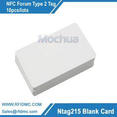 Carta di NFC NFC Forum di Tipo 2 Tag con chip per Tutti NFC abilitato NTAG215 devices-10pcs/lotti