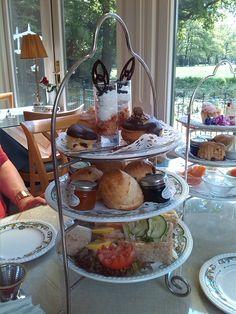 High tea at Tea Time Echten.