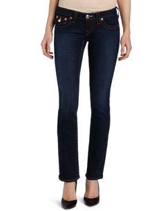 True Religion Women's Billy True Religion. $172.00. Machine Wash. 99% Cotton/1% Spandex. Low Rise. Straight Leg. Made in USA