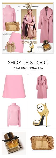 """""""Pink & Gold"""" by tonituff ❤ liked on Polyvore featuring Marni, Lands' End, Giuseppe Zanotti, Gucci, Burberry and Tom Ford"""