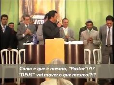 Pastor Evangélico usa Truques de Hipnose e Ilusionismo durante Cultos.