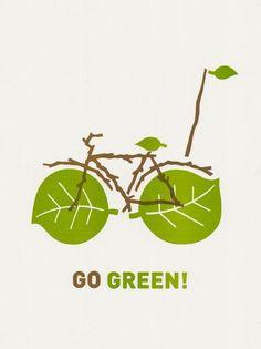 Divertido anuncio promocionando el uso de bicicletas para un transporte más verde.