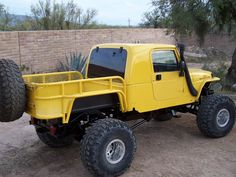 Love this custom Jeep pickup Has a custom pickup bed conversion. Not cheap but looks really cool(sb) Jeep Tj, Jeep Rubicon, Jeep Truck, Lifted Trucks, Cool Trucks, Pickup Trucks, Wrangler Jeep, Lifted Chevy, Wrangler Pickup