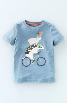 e80b846df69 Mini Boden  Animal Sports Day  Graphic T-Shirt (Toddler Boys