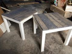 Image result for diy simple rustic end table