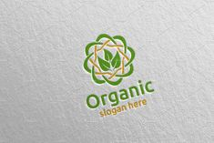Natural and Organic Logo design 43 by denayunebgt on @creativemarket