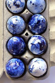 Как покрасить яйца на Пасху: оригинальный мастер-класс | Sweet home
