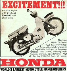 Honda Cub, Großbritannien