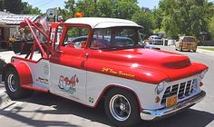 1956 Chevy Custom Tow Truck