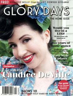 Where our hearts are... The upcoming issue of Glory Days magazine is dedicated to the Home and we've rounded up some great writers, asking them to share their thoughts on the topic.  Coverstar and vintage entrepreneur Candice DeVille invites us into her home and talks to Natasha Francois about blogging, beauty and business; Claire Regnault of Te Papa profiles three design visionaries from the past whose influences are still felt in our homes today; Caroline Moore traces the history of the…
