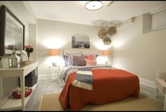 A Gorgeous Basement Bedroom | Photos | HGTV Canada