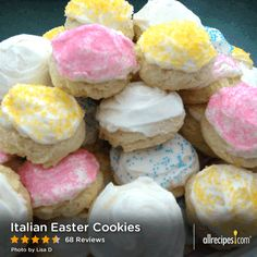 """Italian Easter Cookies 