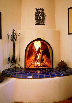 Visiondesigngroup Com Kiva Fireplaces Stucco Fireplace