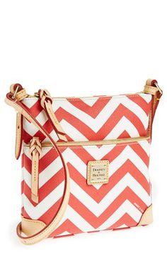 $168, Letter Carrier Crossbody Bag Red by Dooney
