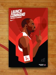 Nike All-Star Week Illustrations by Always With Honor