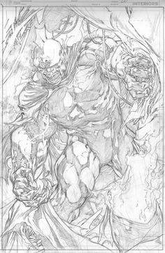 Justice league#19- pencil