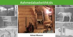 #AhmedabadwithKids This is a museum depicting life of the tribes in the region. It came into existence with the establishment of #Adivasi Research and Training Center in 1962.  Details about Adivasi life style, clothes and other aspects of their life are displayed in a lively manner in the museum. Their religious symbols and marks, ornaments, musical instruments, household things, instruments of professions, clothes and the toys for children are displayed in different sections.