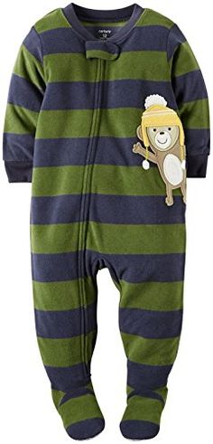 Little Boys' Striped Footie (Toddler) -- Learn more by visiting the image link.(It is Amazon affiliate link) #BoysClothing