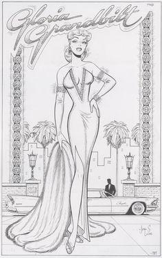 Gloria Grandbilt from Katy Keene / eBay