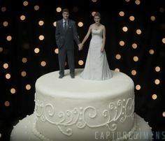 3D Printed Wedding  http://captureddimensions.com/weddings/