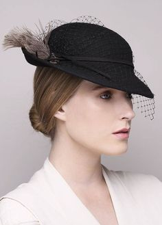 7d3182f269607 Classic felt hat for women Cocktail Parties