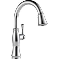 Delta Cassidy Chrome 1-Handle Pull-Down Sink/Counter Mount Kitchen Faucet $227.50