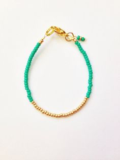 Gold dipped stacking bracelet