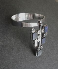 Elis Kauppi Kupittaan Kulta Finland Modernist Bracelet Sterling (item #1330042, detailed views)