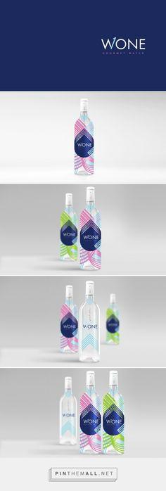 WONE gourmet #water #packaging designed by Agência BUD - http://www.packagingoftheworld.com/2015/04/wone.html