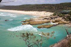 Point Lookout, North Stradbroke Island, Queensland   #Australia: Main beach and South Gorge    http://www.tripadvisor.com.au/ShowForum-g255067-i460-Queensland.html