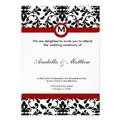 Sold this #damask #wedding invitation to CA. tx