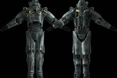 Fallout - Life Size T-45b Power Armor for Cosplay Free Papercraft Download