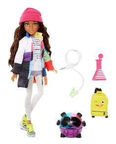 Project MC2 Bryden Doll with Panda Speaker Experiment