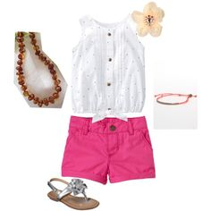 Summer toddler outfit