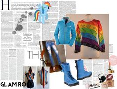 """""""Rainbow Dash winter outfit"""" by sarahwelch766 on Polyvore"""