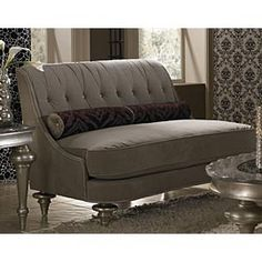 AICO Hollywood Swank Group 1 Opt. 2 Settee