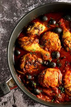 This Moroccan chicken stew is intensely flavoursome and easy to prepare.This Moroccan chicken stew is intensely flavoursome and easy to prepare. It is nutty and aromatic, thanks to dukkah, a basic component of many North African meat, Morrocan Food, Moroccan Dishes, Moroccan Food Recipes, Tagine Recipes, Moroccan Chicken, Eastern Cuisine, Cooking Recipes, Healthy Recipes, Sushi Recipes