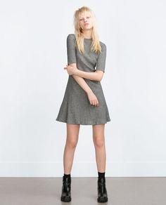 ZARA - WOMAN - RIBBED DRESS
