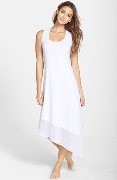 Tommy Bahama High/Low Scoop Neck Tea Dress available at #Nordstrom