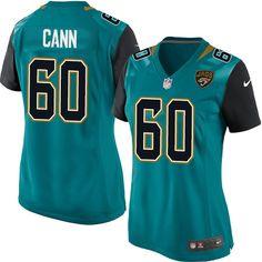 Nike Limited A. J. Cann Teal Green Women's Jersey - Jacksonville Jaguars #60 NFL Home