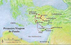 """A Bíblia pela Bíblia: Atos dos Apóstolos - Parte 8 - """"A Primeira Viagem ..."""