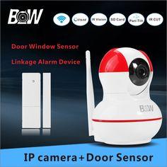 53.51$  Know more  - Wifi Camera Security Alarm +Door Window Sensor Anti theft Home Video Surveillance PTZ P2P Camera Wifi BW12R