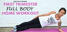 First Trimester Full Body At Home Pregnancy Workout